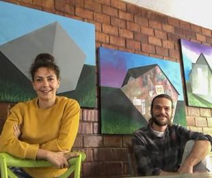 Fabiula Nascimento e Emilio Dantas   TV Globo/Sergio Zalis