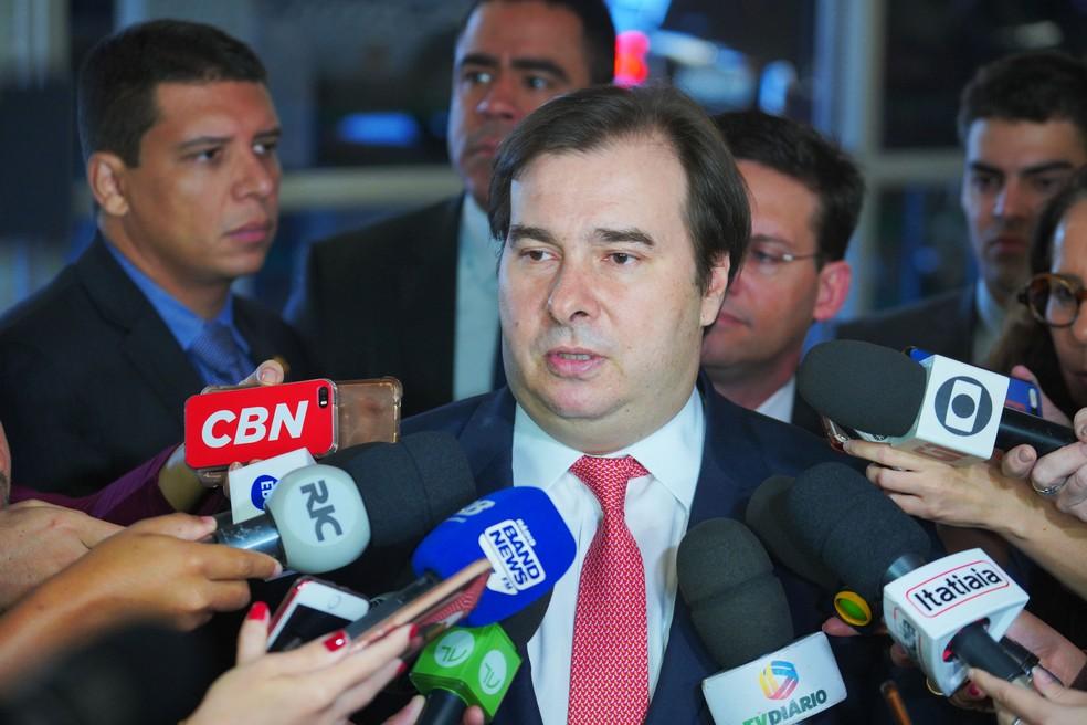 O presidente da Câmara dos Deputados, Rodrigo Maia (DEM-RJ) — Foto: Pablo Valadares/Câmara dos Deputados
