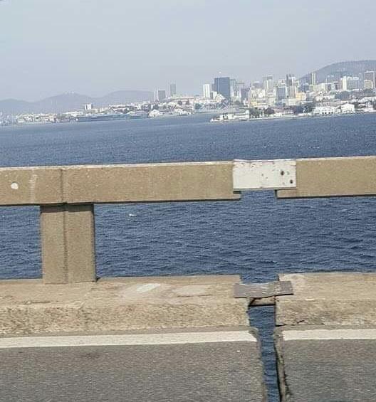 Foto de divisão na Ponte Rio-Niterói preocupa internautas