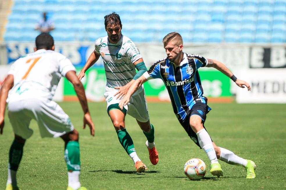 Caio Henrique em ação pelo Grêmio — Foto: Grêmio FBPA / Divulgação