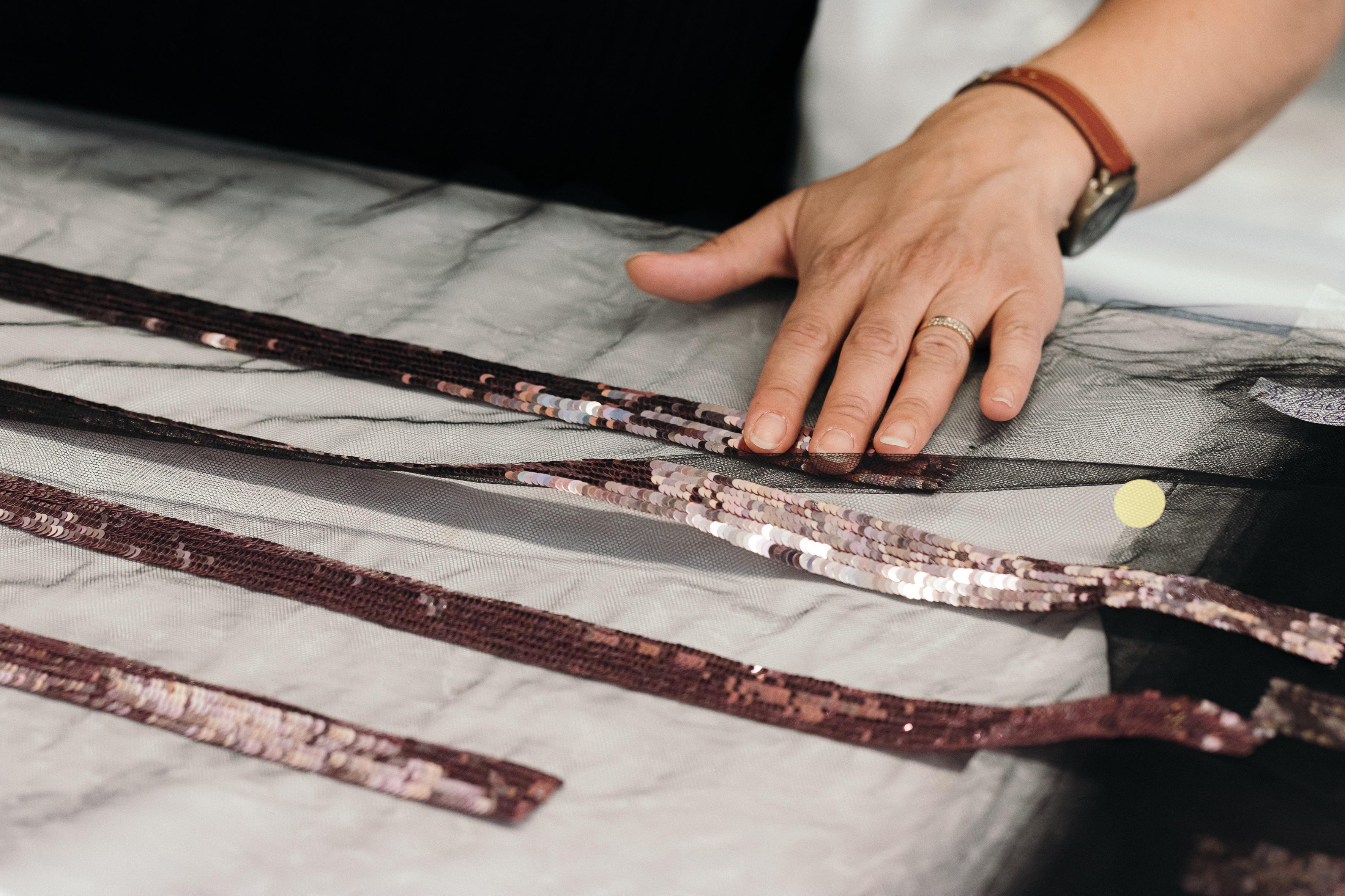 Bordados do ateliê Montex, que entrou para Paraffection em 2011 (Foto: Divulgação)