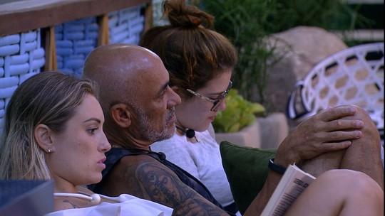 Jéssica observa Paula na Prova do Anjo Cupido BBB: 'Foi assim que escorregou o meu'