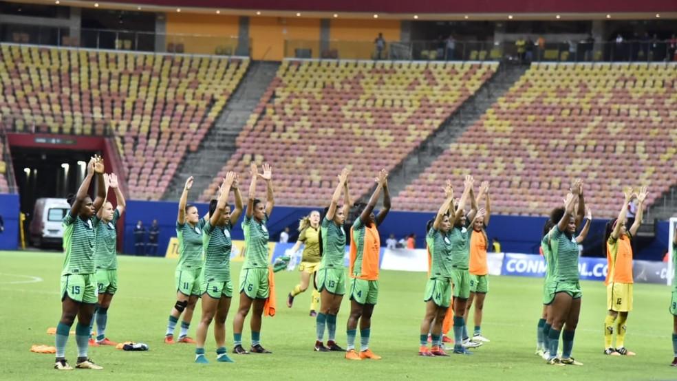 067a0fa342 ... Iranduba também representa o Brasil nas semifinais da Libertadores  feminina — Foto  Tacio Melo