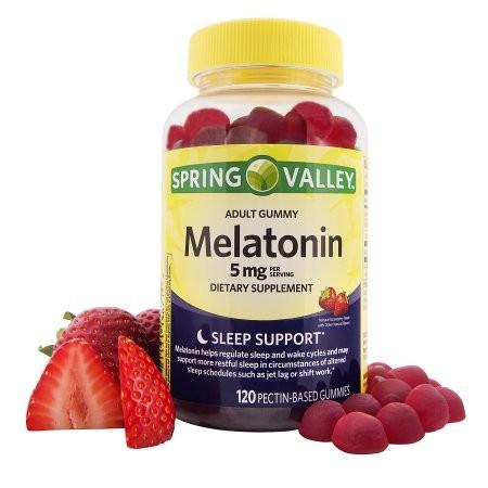Imagem ilustrativa de suplementos de melatonina (Foto: Divulgação site Walmart)