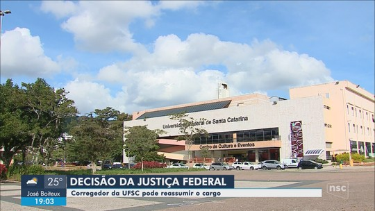 Justiça Federal suspende efeitos de portaria que afastou corregedor-geral da UFSC