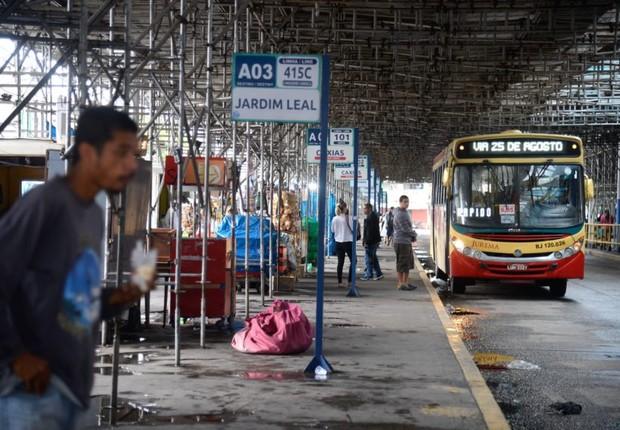ônibus, rio de janeiro, transporte público (Foto: Tânia Rêgo/Agência Brasil)