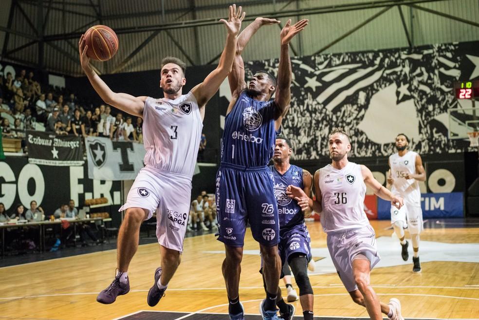 9decbed2826ec ... Botafogo x Mogi das Cruzes em jogo válido pelo NBB — Foto: Paula Reis