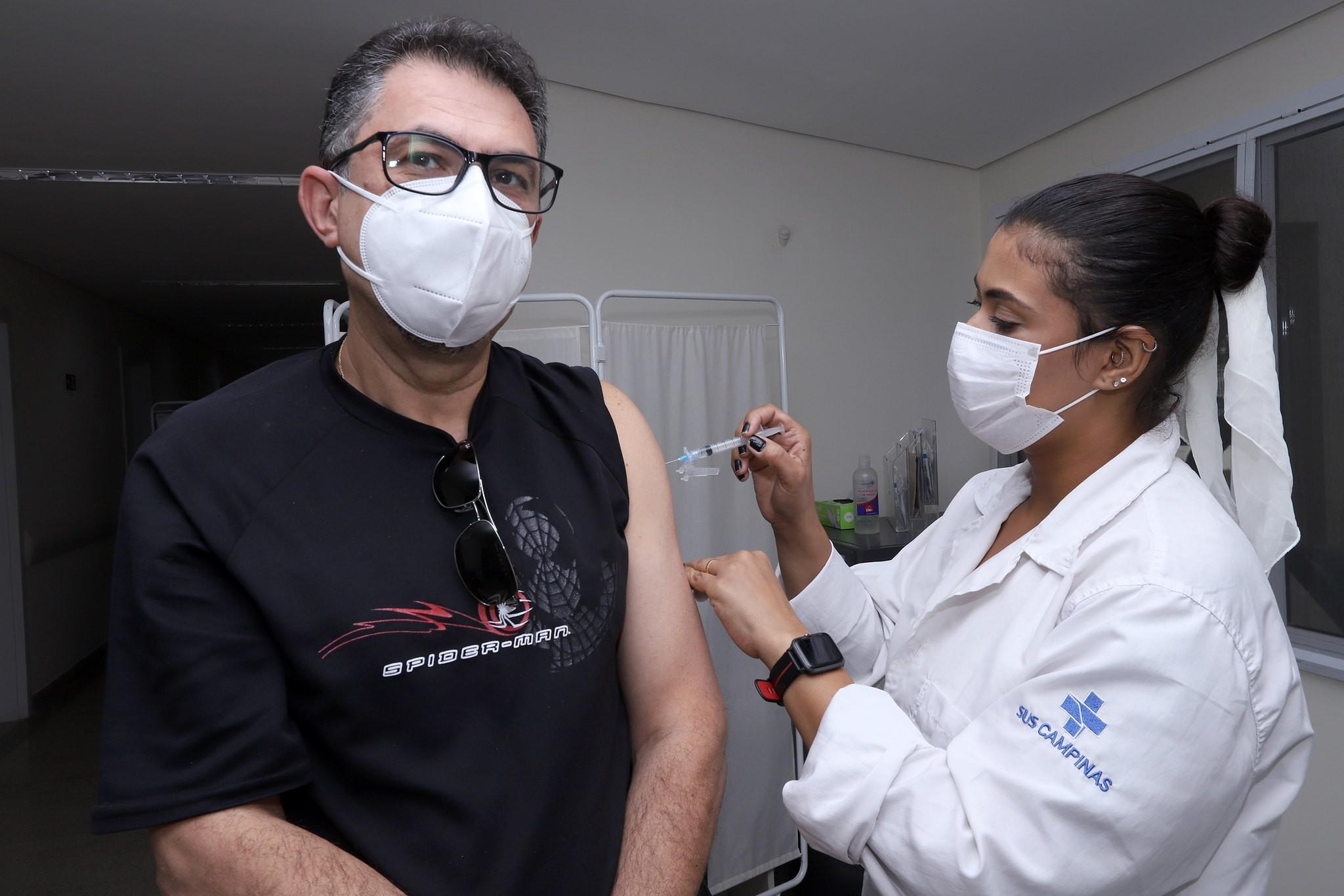 Campinas faz 3º Dia D de vacinação contra Covid-19 com previsão de imunizar 26,8 mil pessoas