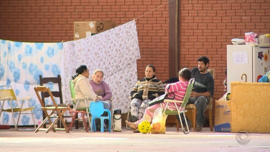 Mais de 60 famílias seguem fora de casa devido às chuvas no RS