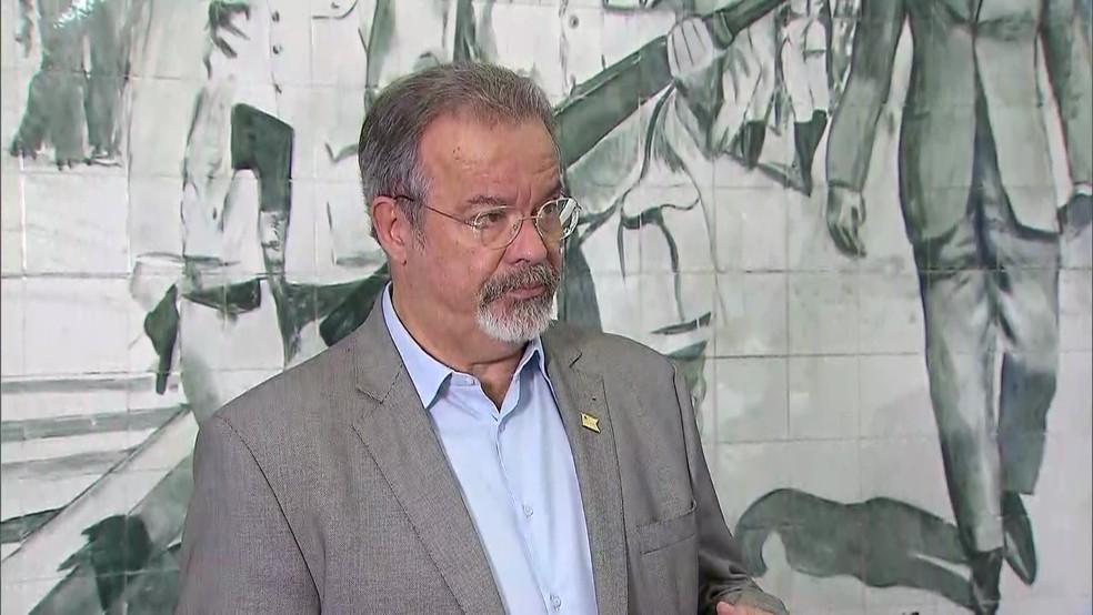 Ministro da Defesa, Raul Jungmann (Foto: Reprodução/TV Globo)