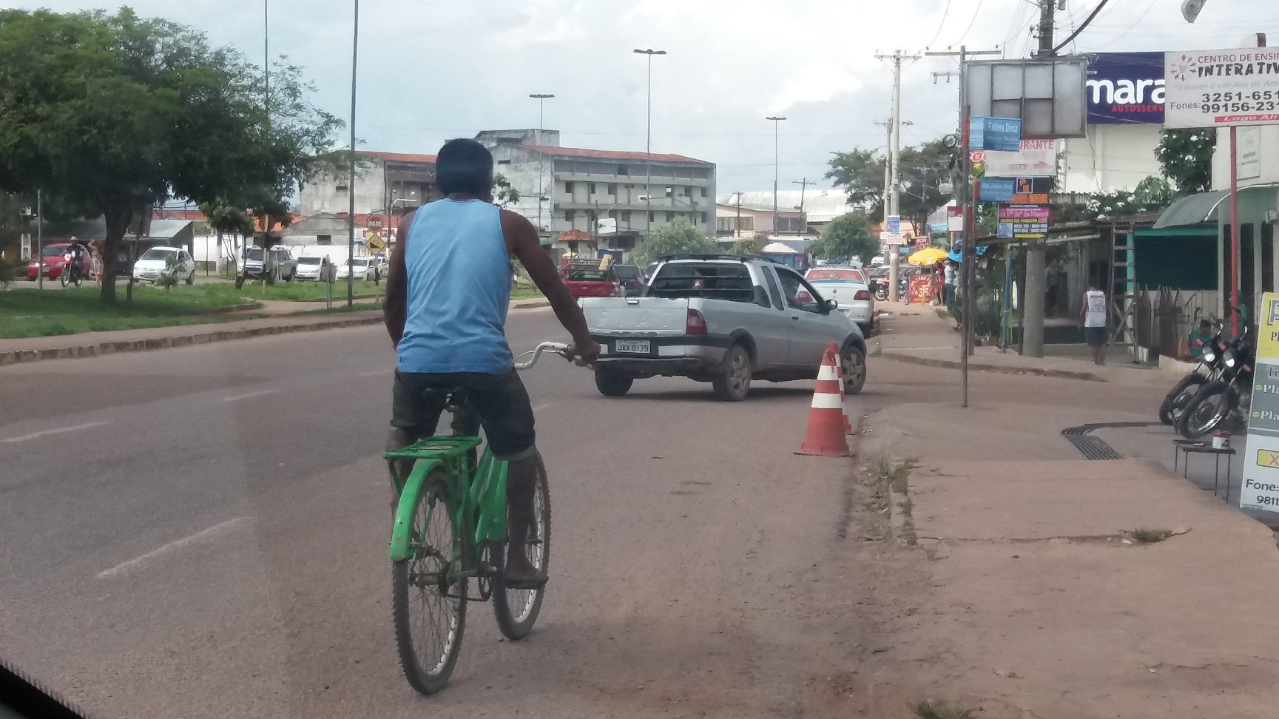 Semana Nacional de Trânsito reforça prevenção e orientações a ciclistas, em Macapá - Notícias - Plantão Diário