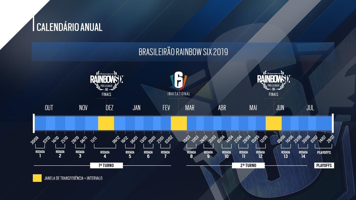 Calendario Rainbow.Brasileirao De Rainbow Six Siege Ganha Novo Calendario E