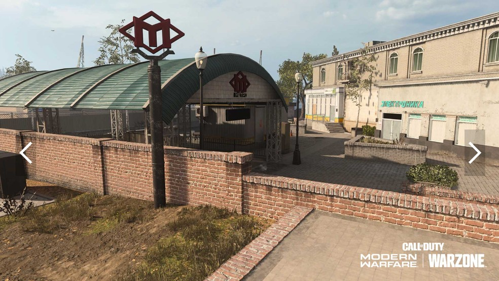 Downtown Tavorsk District. (Image: Activision)