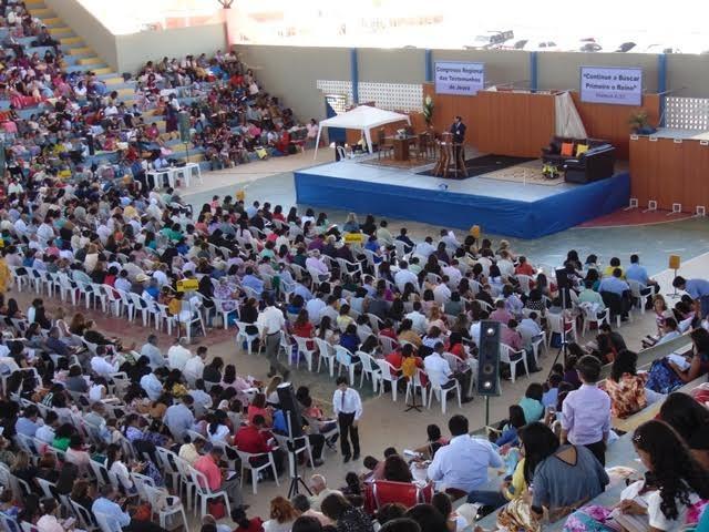 Congresso Regional das Testemunhas de Jeová (Foto: Mário Souza/ Arquivo pessoal )