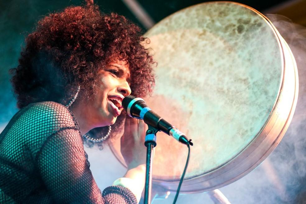 Rapper Thábata Lorena, de Brasília — Foto: Davi Mello/Divulgação