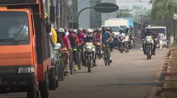 Motocicleata encerra programação da Semana Nacional de Trânsito em Rio Branco