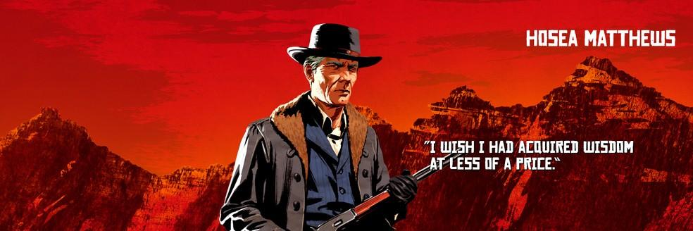 Hosea Matthews, de Red Dead Redemption 2 — Foto: Divulgação/Rockstar