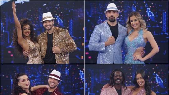 'Dança dos Famosos': Dandara Mariana, Jonathan Azevedo e Kaysar Dadour são os finalistas