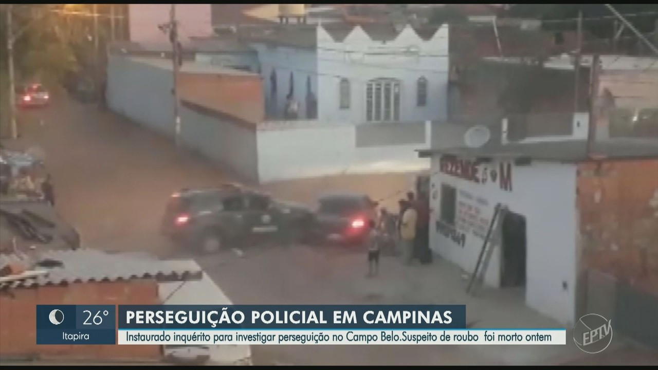 Polícia Civil abre inquérito para apurar perseguição no Jardim Campo Belo, em Campinas