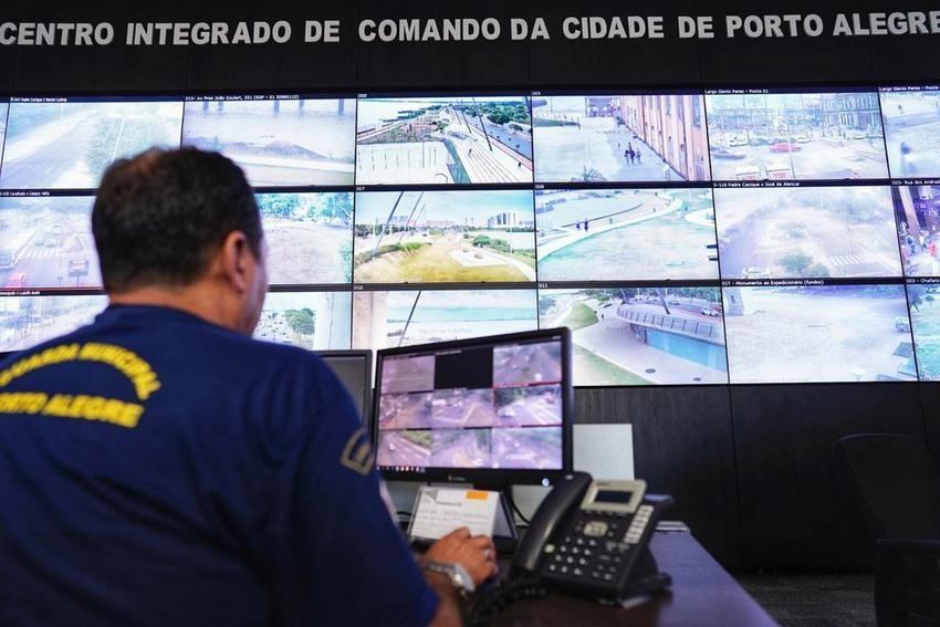 Prefeitura de Porto Alegre anuncia instalação de 186 câmeras de videomonitoramento na cidade