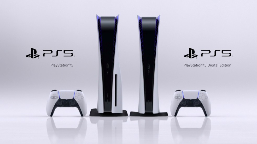 PS5 terá opção digital, algo inédito para a Sony — Foto: Divulgação/Sony