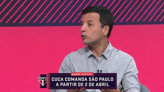 André Hernan fala sobre início de trabalho de Cuca no São Paulo