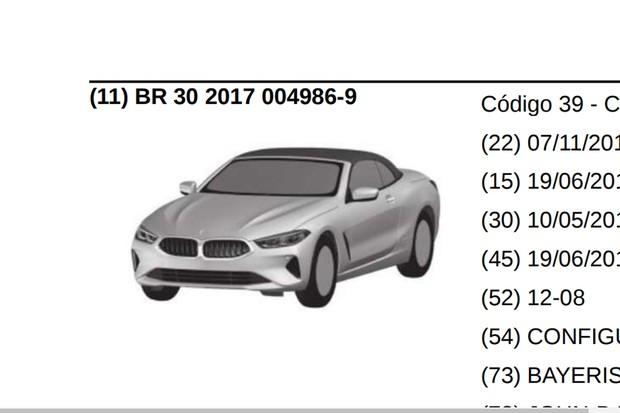 BMW Série 8 Cabriolet ainda será apresentado no exterior (Foto: Reprodução)