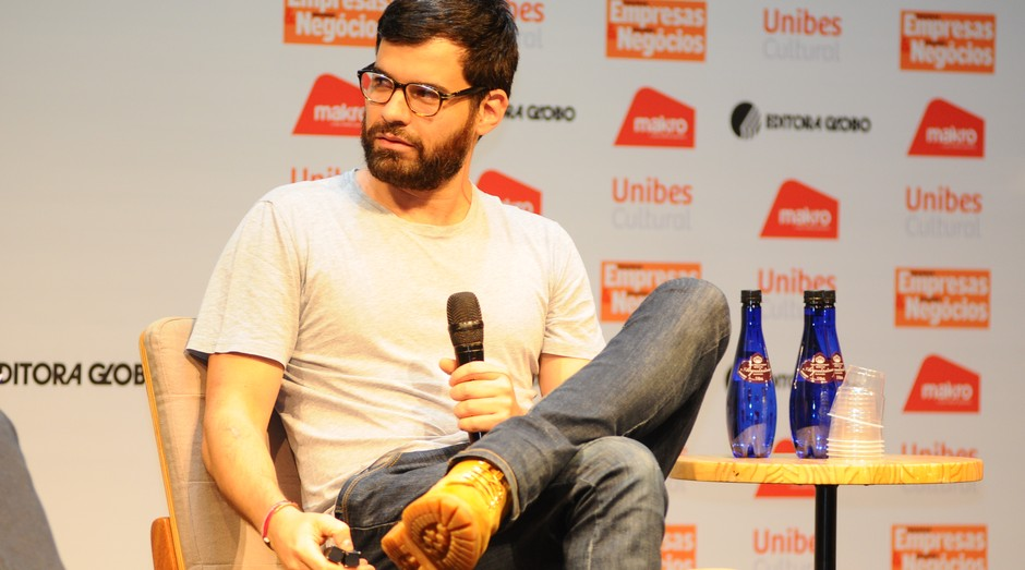 Facundo Guerra, fundador do Grupo Vegas, em palestra durante PEGN Labs (Foto: Rafael Jota)