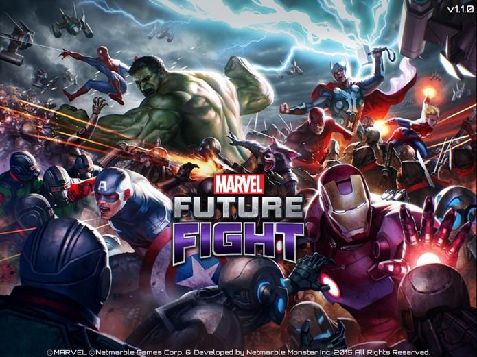 Marvel Future Fight é um RPG de ação (Foto: Reprodução/Felipe Vinha)