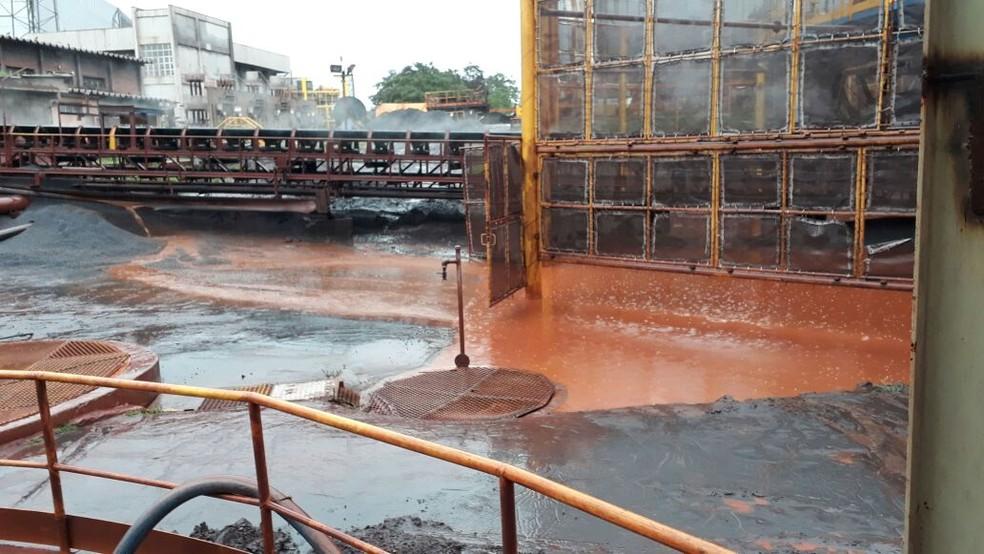 Vazamento pode ter sido causado por falha no tratamento (Foto: Divulgação / Iema)