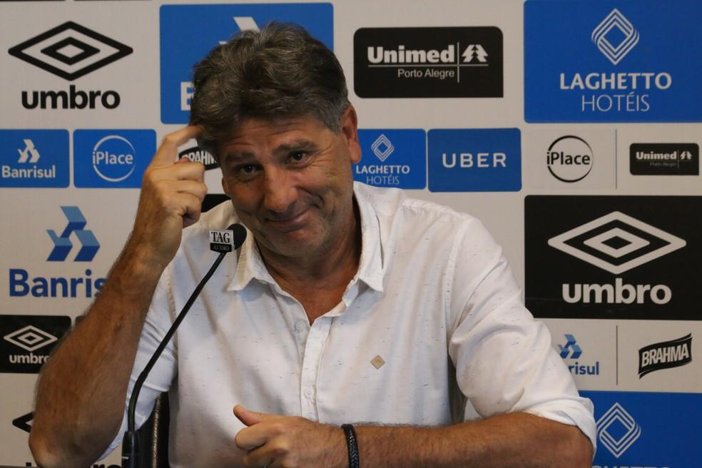 Nome de Renato entrou em pauta, mas valores e dificuldades esfriaram qualquer tentantiva de negociação (Foto: Eduardo Moura)