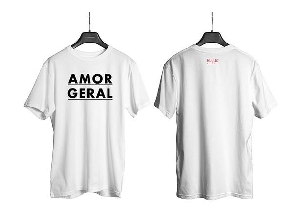 Camiseta da campanha Amor Geral da Ellus (Foto: Divulgação)