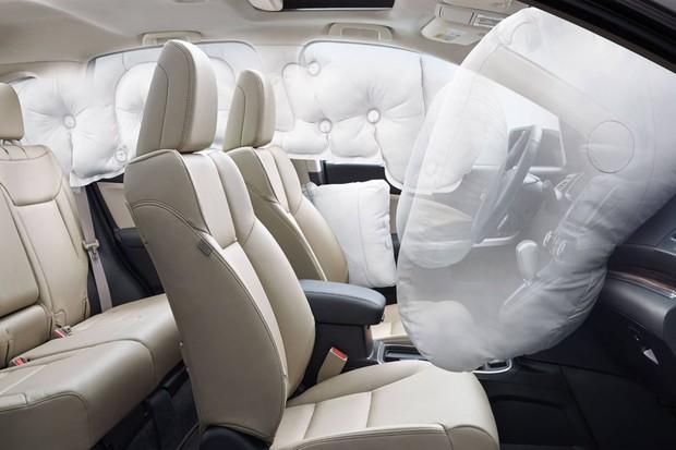 Airbags interno painel (Foto: Divulgação)