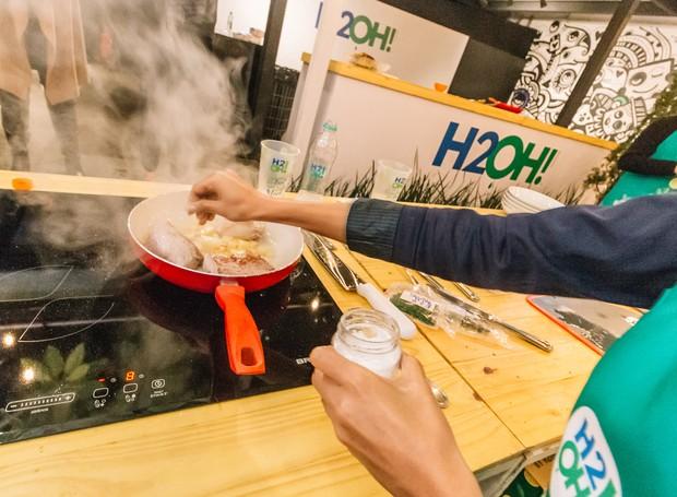 Cooking Lessons by H2OH!®, aula gratuita no Sky Hall Bar (Foto: Divulgação )