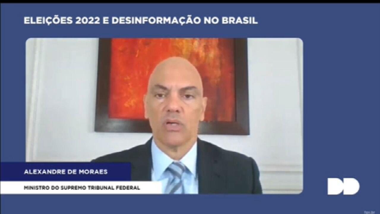 Alexandre de Moraes diz que internet não pode ser 'terra de ninguém'