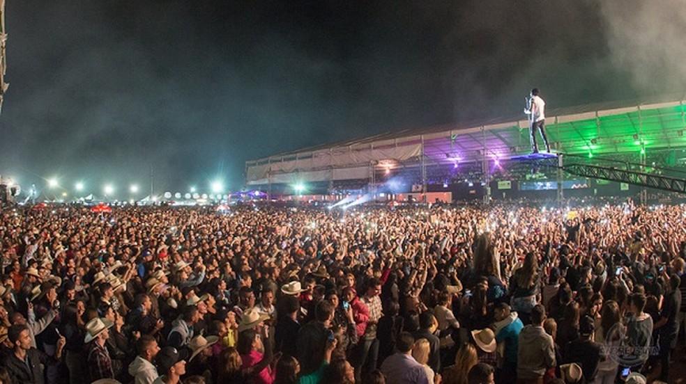 -  De acordo com o Sindicato Rural, a festa deve receber este ano um público de 200 mil pessoas  Foto: André Silva/Brasilera
