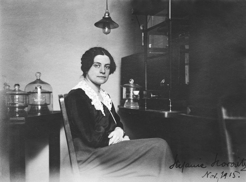 Química Stefanie Horovitz (Foto: Austrian Central Library for Physics, Vienna)