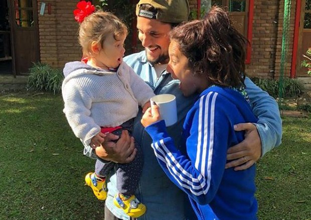 Yanna Lavigne, Madalena e Bruno Gissoni (Foto: Reprodução/Instagram)
