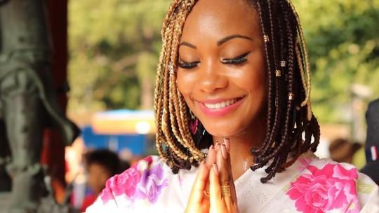 Luana Bandeira dá aula de samba, funk e frevo para carnaval do Japão