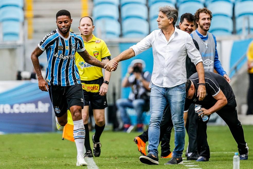 Renato deve manter mudanças contra o Rosario Central — Foto: Diego Vara/BP Filmes