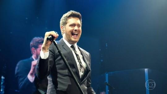 Michael Bublé fará shows no Brasil em outubro de 2020
