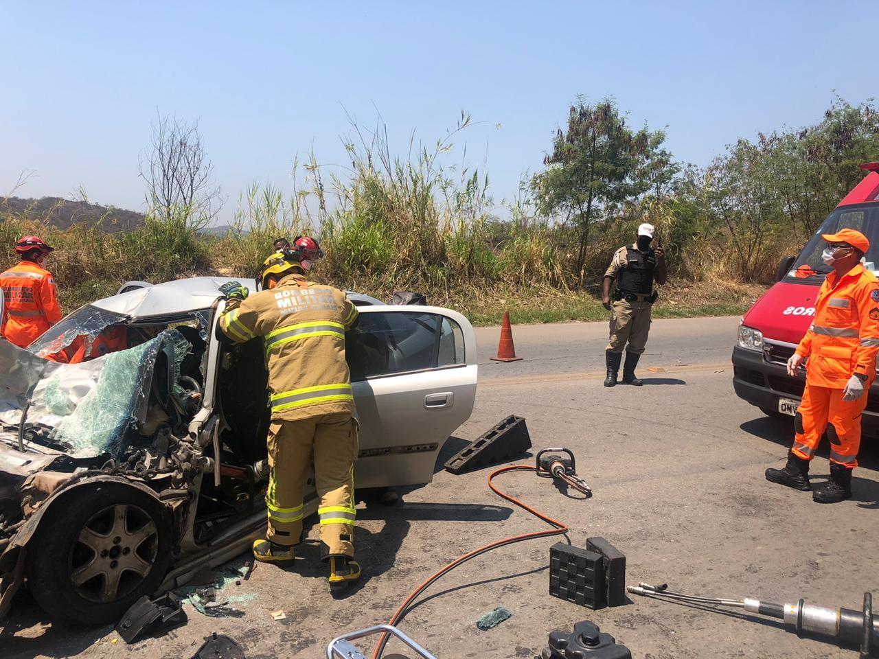 Homem morre em acidente na MG-262, em Sabará, na Grande BH