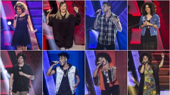'The Voice Brasil': veja as reações dos participantes da 5ª noite de 'Audições às Cegas' ao saírem do palco