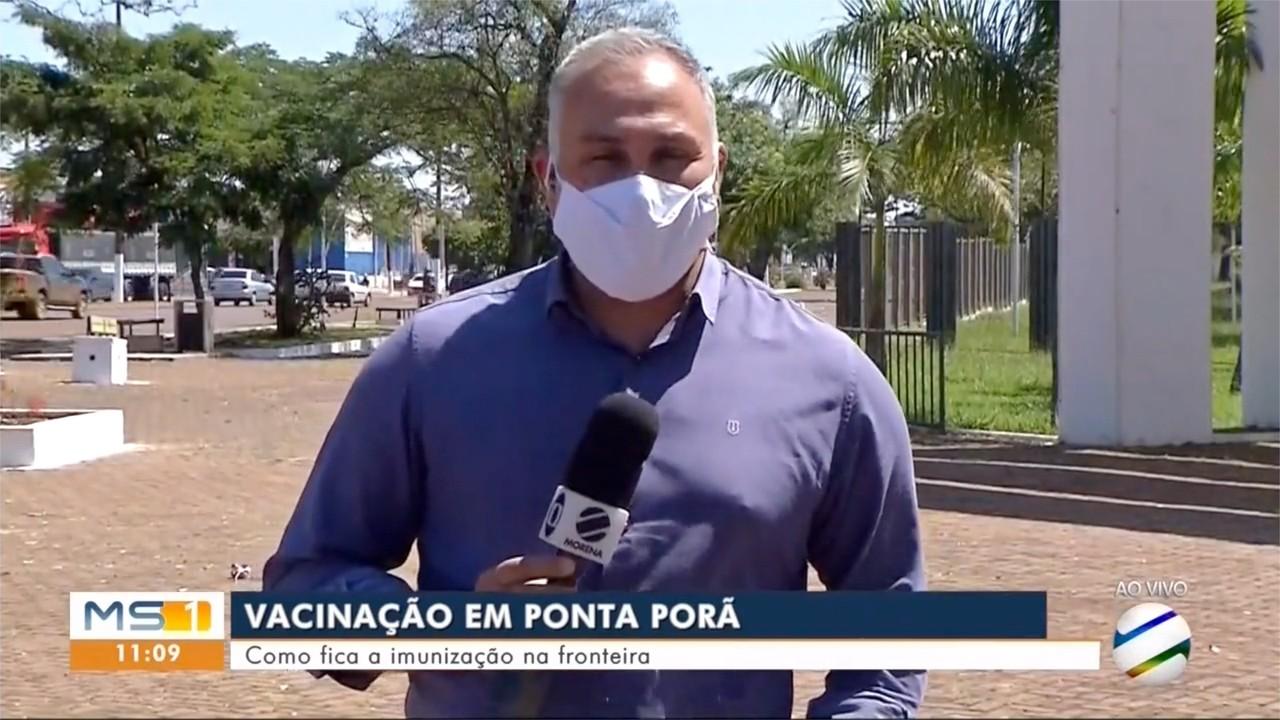Imunização e Ponta Porã