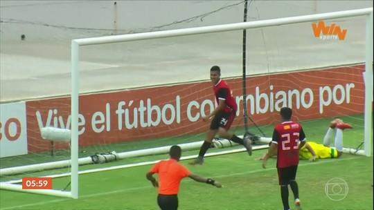 Monalisa da Rodada: confira o gol pintura de Anderson Diaz pelo campeonato colombiano