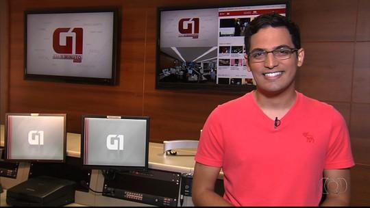 G1 Goiás em 1 Minuto: MC Guimê se apresenta em Goiânia