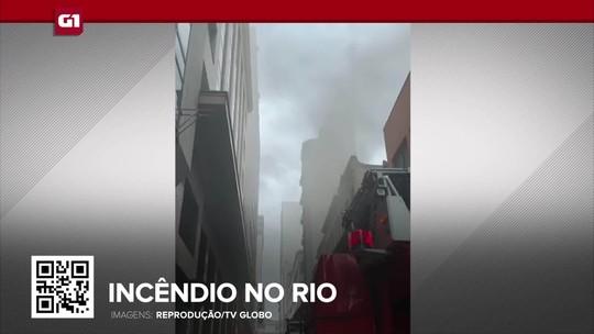 G1 em 1 minuto: Três bombeiros morrem em incêndio em boate no Rio