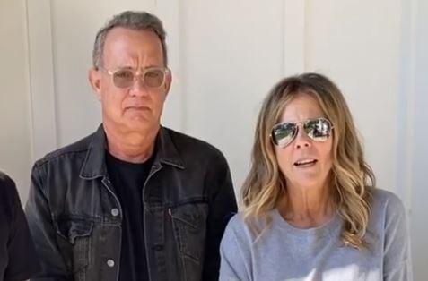 Tom Hanks e Rita Wilson (Foto: Instagram)