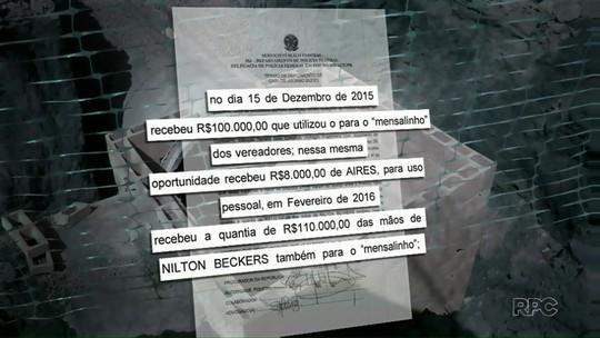 Ex-secretário de Obras de Foz confirma 'mensalinho' a vereadores