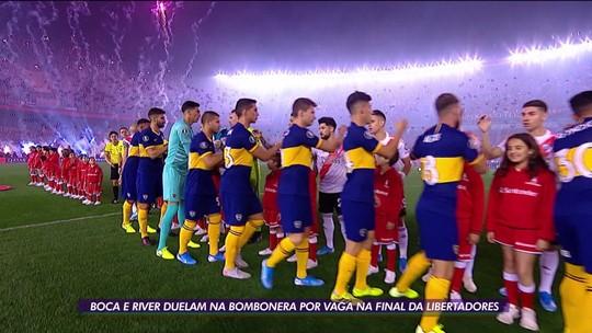 Boca e River duelam na Bombonera por vaga na final da Libertadores